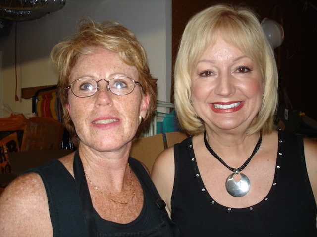 Jeanne Westomoreland, Home Stager and CEO of Classic Staging at left and Barb Schwartz creator of the Home Staging industry and ASP certification at right.